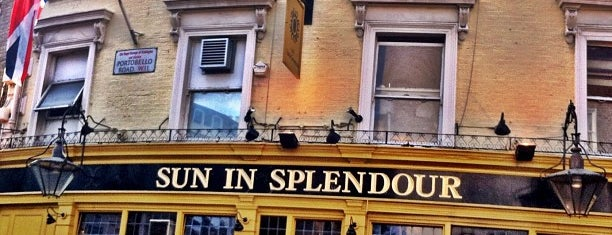 The Sun In Splendour is one of London.