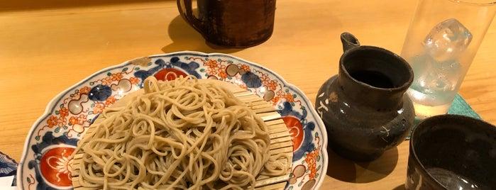 蕎麦 流石 is one of Andrewさんのお気に入りスポット.