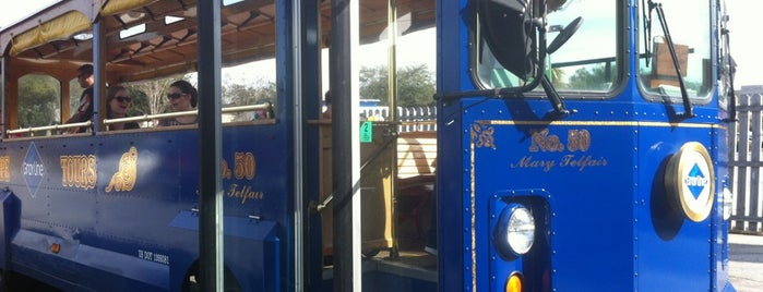 Oglethorpe Trolley Tours is one of Savannah Trip.