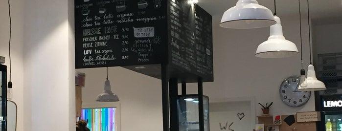 Shotgun Sister Coffeebar is one of Coffee To Go's Muc - umweltbewusst mit Pfandsystem.