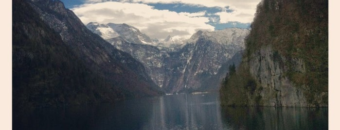 Königssee is one of 100 обекта - Германия.
