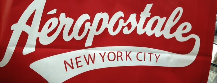 Aéropostale is one of NY.