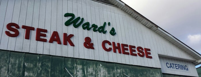 Ward's Steak And Cheese is one of I-95 eating.