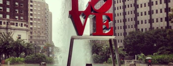 JFK Plaza / Love Park is one of US - Must Visit ( East Coast).