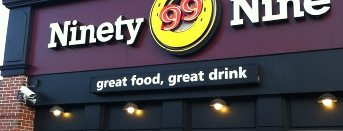 Ninety Nine Restaurant is one of สถานที่ที่ Ellen ถูกใจ.