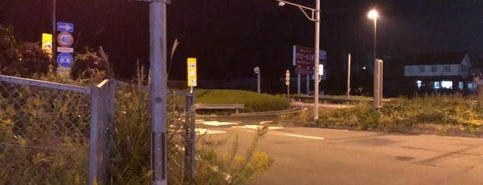 大洲IC is one of 松山自動車道.