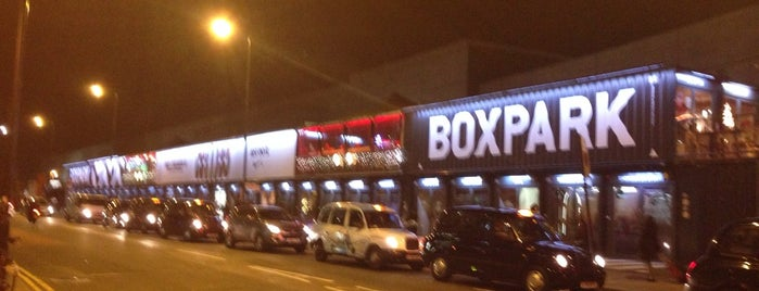 BOXPARK Shoreditch is one of Hipster East London.
