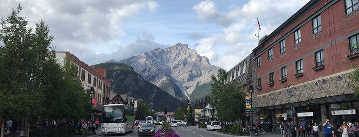 Town of Banff is one of Canada 2013.