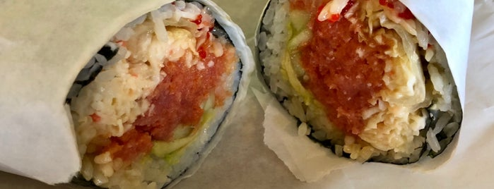 Sushi Burrito is one of To try.