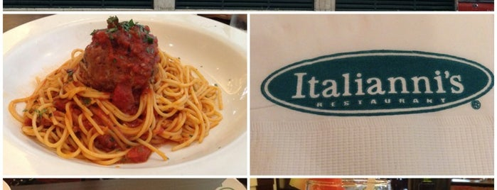 Italianni's is one of Lugares guardados de Shank.
