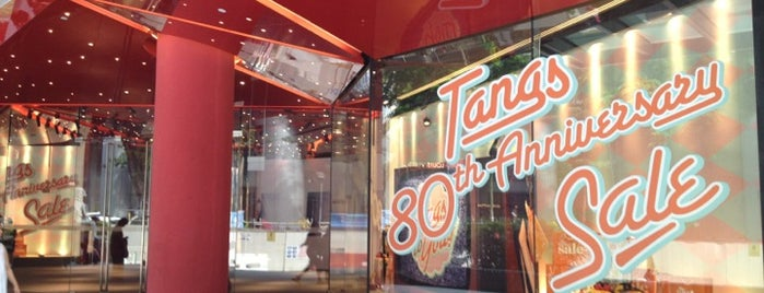 Tangs is one of Shop Till You Drop.