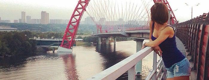 Живописный мост is one of Москоу.