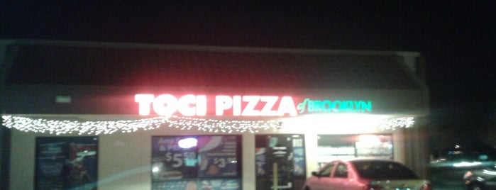Toci Pizza of Brooklyn is one of Arizona.