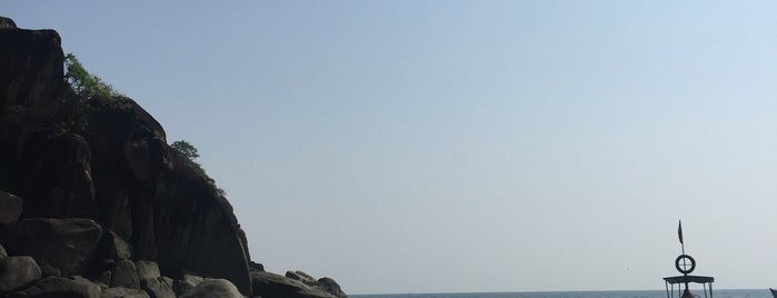Butterfly beach is one of Goa.