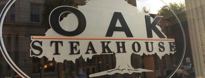 Oak Steakhouse is one of Charleston.