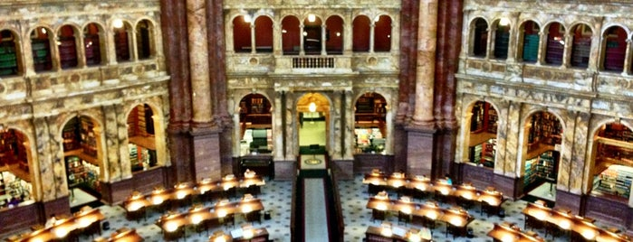 Biblioteca del Congreso is one of Washington DC Museums.