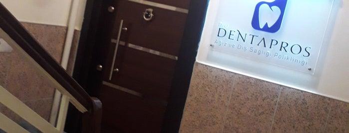 DentaPros Dental Klinik is one of Sinem 님이 좋아한 장소.