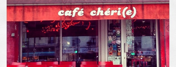 Café Chéri(e) is one of Paris.