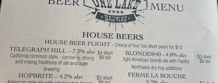 One Lake Brewing is one of Oak Park a Locals Guide.