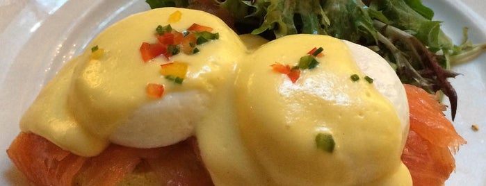Sarabeth's is one of NYC's Best Eggs Benedict Dishes.