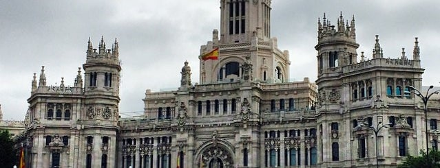 Plaza de Cibeles is one of S Marks The Spots in MADRID.