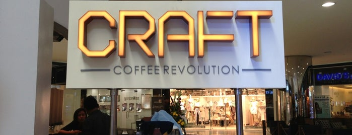 Craft Coffee Revolution is one of Edie'nin Beğendiği Mekanlar.