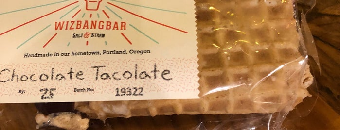 Salt & Straw's Wiz Bang Bar is one of Portland!.
