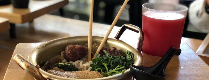 "The Pot ""Asian Vegan"" is one of Santiago : понравившиеся места."
