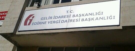 Edirne Vergi Dairesi Başkanlığı is one of Orte, die sezer gefallen.