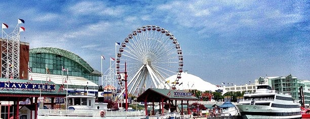 Navy Pier is one of Chi Town.