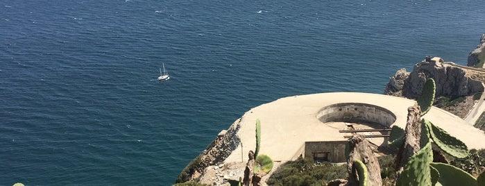Mediterranean Steps is one of Gibraltar.