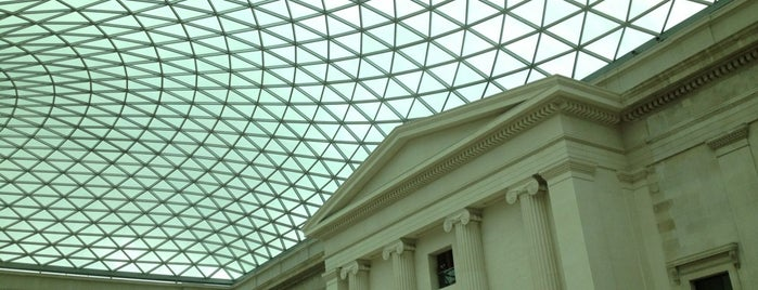 British Museum is one of London's great locations - Peter's Fav's.