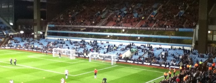 Villa Park is one of Soccer Stadiums.
