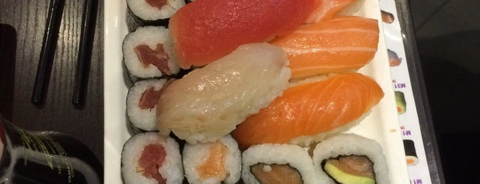 Live Sushi is one of Orte, die Martin gefallen.