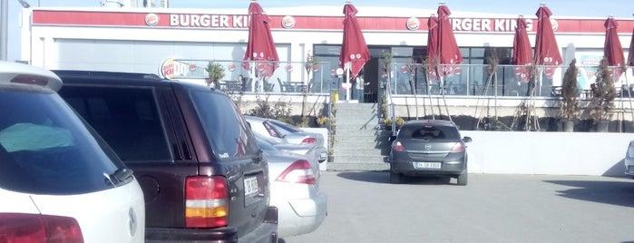 Burger King is one of สถานที่ที่บันทึกไว้ของ Volkan.