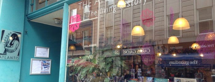 The Atlantis Bookshop is one of Tired of London, Tired of Life (Jul-Dec).