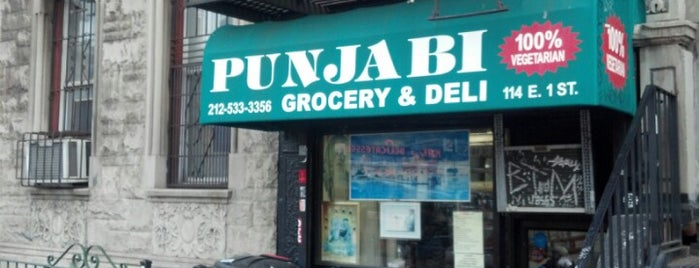 Punjabi Grocery & Deli is one of vegan NYC.
