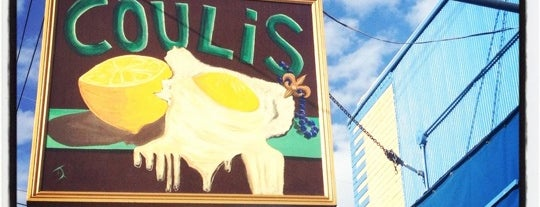 Coulis is one of NOLA Must Visits.
