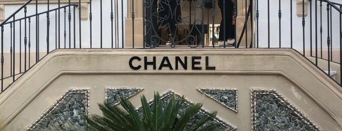 CHANEL Boutique is one of French Riviera 2 Saint tropez - Beaulieu- juan les.