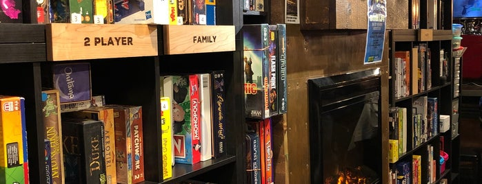 The Loft Board Game Lounge is one of Ottawa.