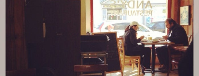 Andy's Diner is one of สถานที่ที่ Adam ถูกใจ.