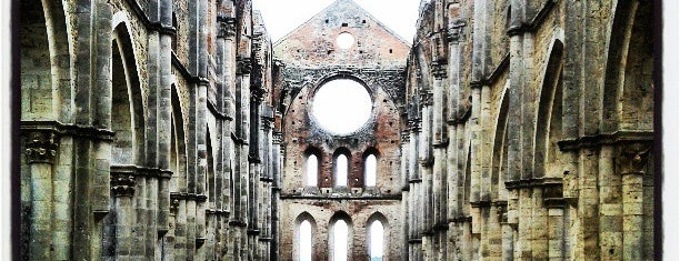 Abbazia Di San Galgano is one of Italy !.