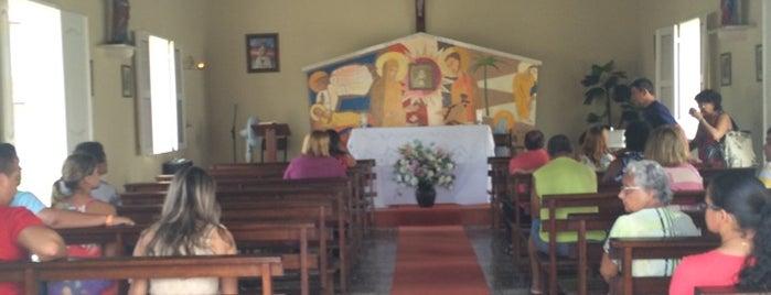 Capela São José - Colônia Sesc Iparana is one of Lugares guardados de Arquidiocese de Fortaleza.