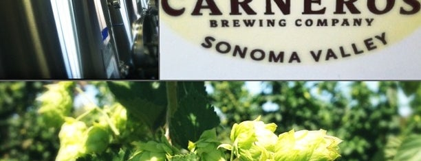Carneros Brewing Company is one of Lugares favoritos de Tammy.