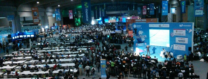 Campus Party México '13 #CPMX4 is one of Locais curtidos por Tamara.
