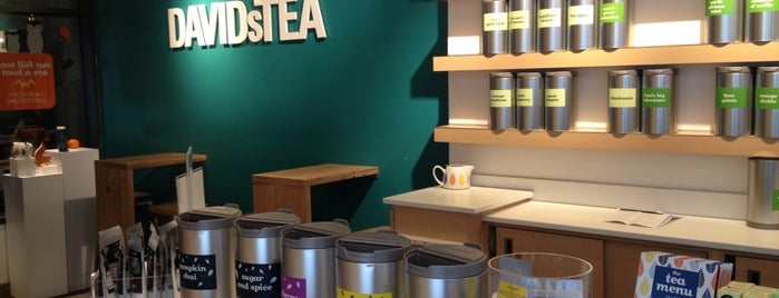DAVIDsTEA is one of Locais curtidos por icelle.