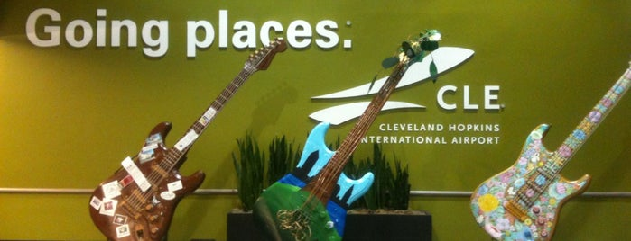 Cleveland Hopkins International Airport (CLE) is one of Lieux qui ont plu à Danyel.