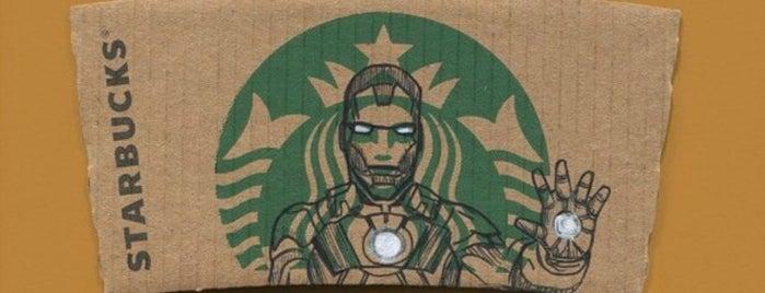 Starbucks is one of Orte, die Veronika gefallen.