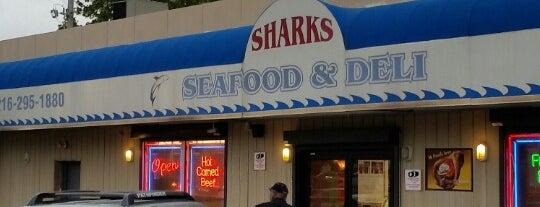 Shark's Seafood & Deli is one of Colleen: сохраненные места.