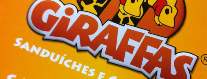 Giraffas is one of Ana Finoti : понравившиеся места.